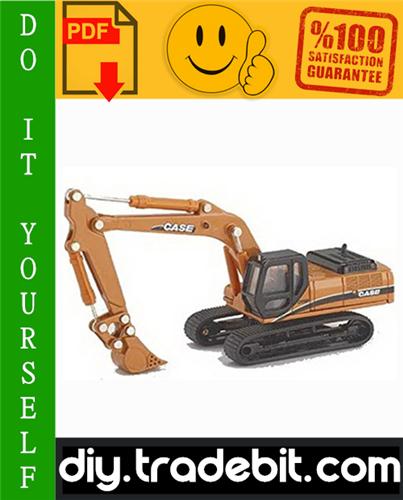Thumbnail Case CX330, CX350 Crawler Excavators Service Repair Manual Download