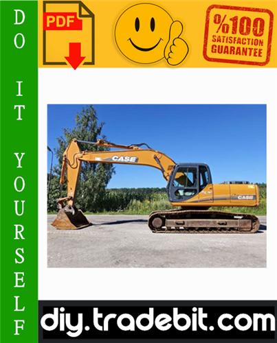 Thumbnail Case CX210, CX230, CX240 Crawler Excavators Service Repair Manual Download