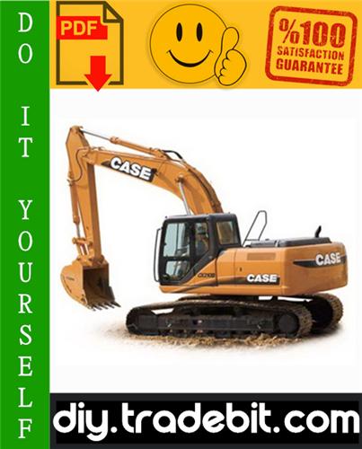 Thumbnail Case CX210B, CX230B, CX240B Crawler Excavator Service Repair Manual Download