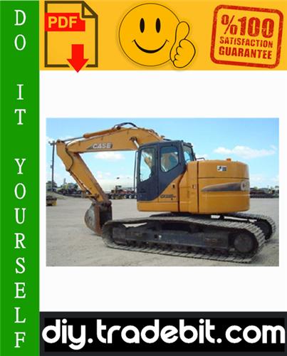 Thumbnail Case CX225SR Crawler Excavator Service Repair Manual Download