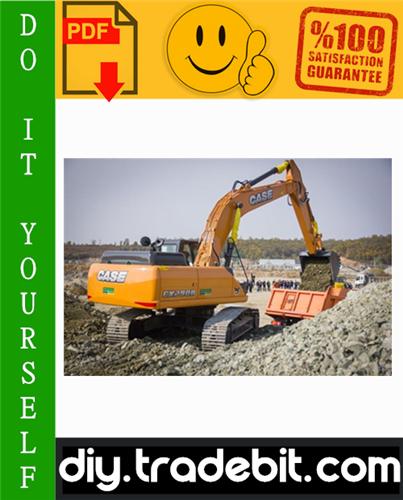 Thumbnail Case CX290B Crawler Excavator Service Repair Manual Download