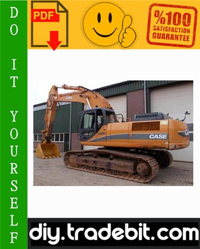Thumbnail Case CX330, CX330NLC, CX350 Tier 3 Crawler Excavators Service Repair Manual Download