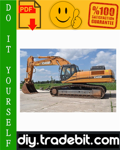 Thumbnail Case CX460 Tier 3 Crawler Excavator Service Repair Manual Download