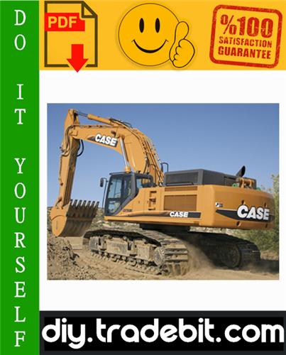 Thumbnail Case CX700 Crawler Excavators Service Repair Manual Download