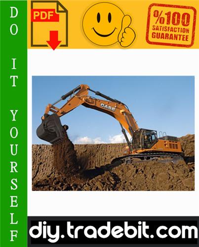 Thumbnail Case CX800 Tier 3 Crawler Excavators Service Repair Manual Download