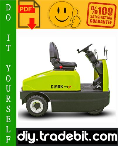 Thumbnail Clark CTX40, CTX70 Forklift Service Repair Manual Download