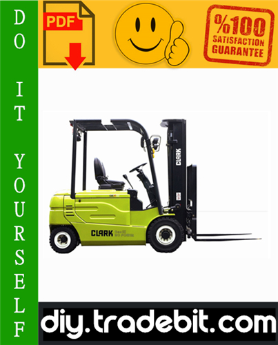 Thumbnail Clark GEX20, GEX25, GEX30S, GEX30, GEX32 Forklift Service Repair Manual Download