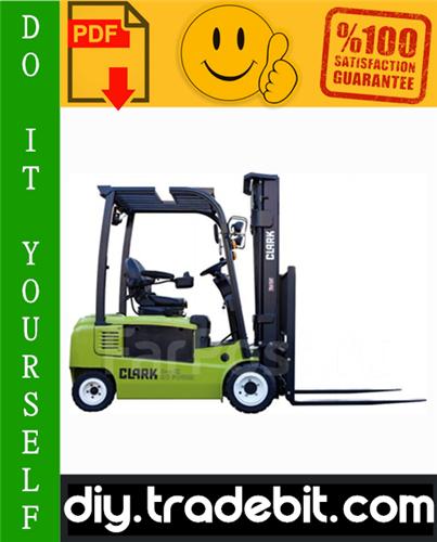 Thumbnail Clark GEX16, GEX18, GEX20s (4 Wheel), GTX16, GTX18, GTX20s (3 Wheel) Forklift Service Repair Manual Download
