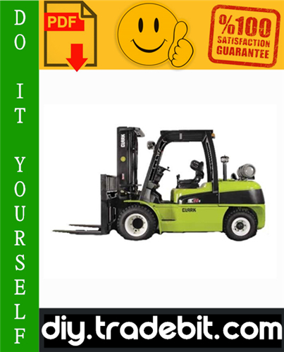 Thumbnail Clark C40D, C45D, C50sD, C55sD, C40L, C45L, C50sL, C55sL Forklift Service Repair Manual Download