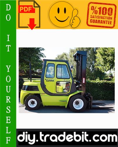 Thumbnail Clark CMP50D, CMP60D, CMP70D, CMP75SD, MP50L, CMP60L, CMP70L, CMP75SL, SF50L, SF60L, SF70L, SF75SL, SF50D, SF60D, SF70D, SF75SD Forklift Trucks Service Repair Manual Download