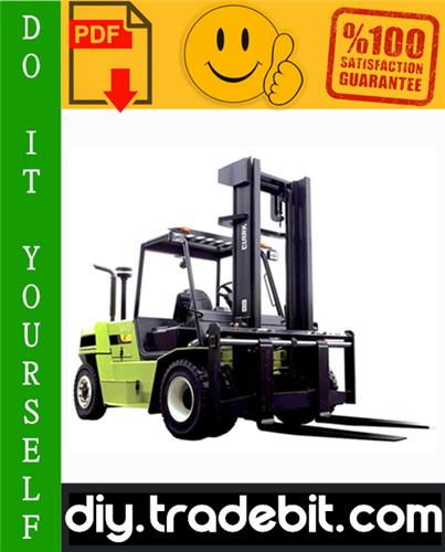 Thumbnail Clark C60, C70, C80 Forklift Trucks Service Repair Manual Download