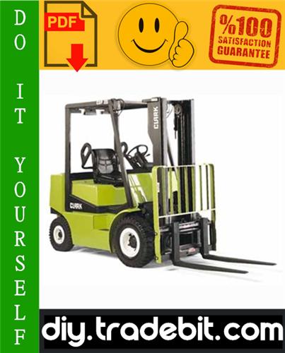 Thumbnail Clark CGP16, CGP18, CGP20, CDP16, CDP18, CDP20 Forklift Trucks Service Repair Manual Download