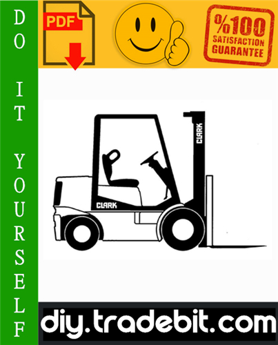 Thumbnail Clark CGC20, CGC25, CGC30, CGP20, CGP25, CGP30, CDP20, CDP25, CDP30 Forklift Trucks Service Repair Manual Download