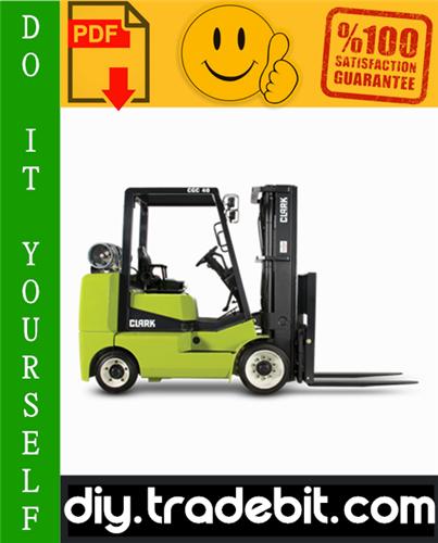 Thumbnail Clark CGC 40, CGC 70, CGP 40, CGP 70 Forklift Service Repair Manual Download