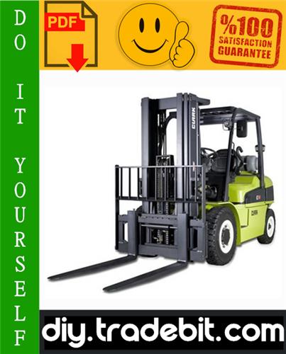 Thumbnail Clark CMP 50, CMP 60, CMP 70, CMP 75S Forklift Service Repair Manual Download