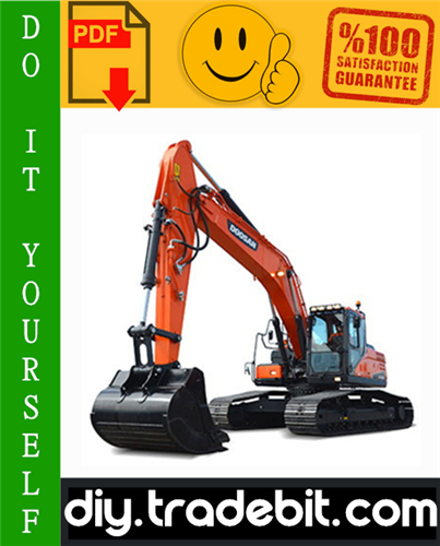 Thumbnail Doosan DX225LCA Crawler Excavator Service Repair Manual Download