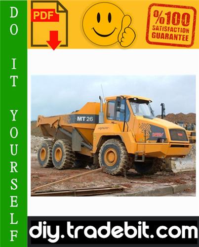 Thumbnail Doosan Moxy MT26, MT31 Articulated Dump Truck Service Repair Manual Download