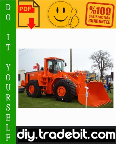 Thumbnail Doosan Mega 500-V (Tier II) Wheel Loader Service Repair Manual + Operation & Maintenance Manual Download