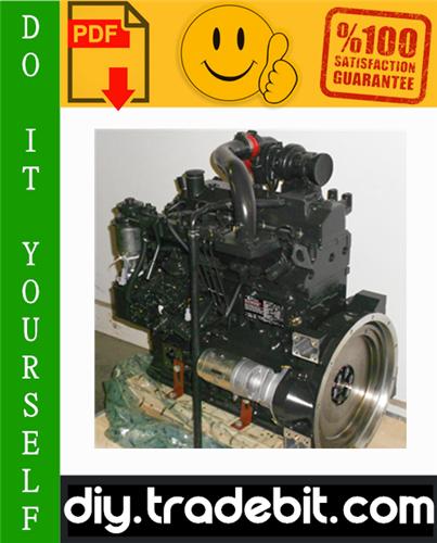Thumbnail Cummins B3.3 & QSB3.3 Diesel Engine Service Repair Manual Download