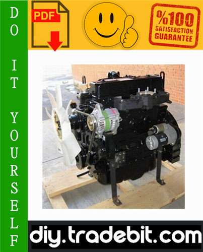 Thumbnail Yanmar Industrial Diesel Engine (Model 4TNE94, 4TNE98, 4TNE106T) Service Repair Manual Download