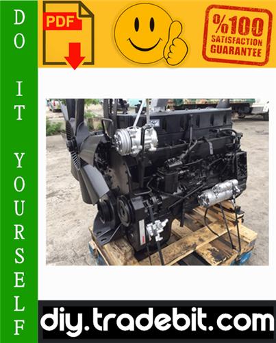Thumbnail Cummins L10 Series Diesel Engine Service Repair Manual Download