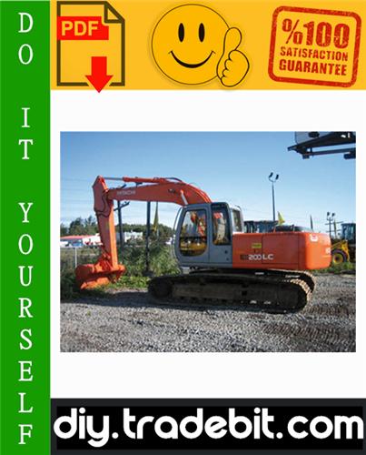 Thumbnail Hitachi EX200-5 Excavator Service Repair Manual Download