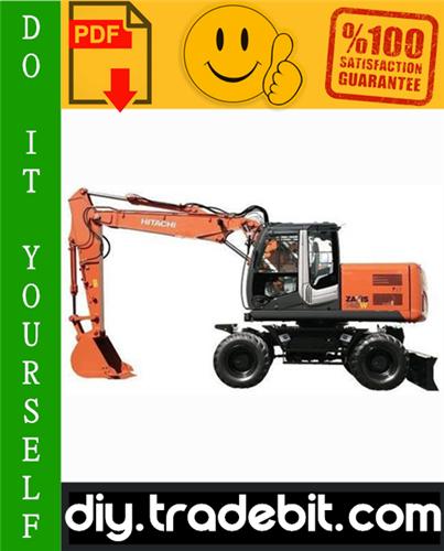 Thumbnail Hitachi ZAXIS140W-3 Wheeled Excavator Service Repair Manual Download