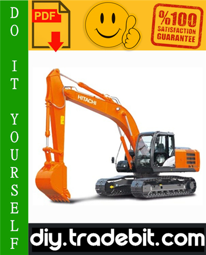 Thumbnail Hitachi Zaxis 200-3 Hydraulic Excavator Service Repair Manual Download