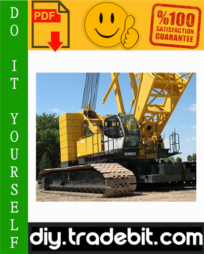 Thumbnail Kobelco CK2500-2, CKE2500-2 Crawler Crane Service Repair Manual Download