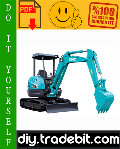 Thumbnail Kobelco SK30SR-2, SK35SR-2 Hydraulic Excavator Service Repair Manual Download