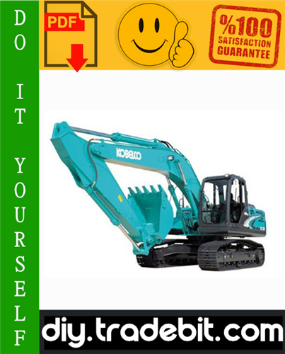 Thumbnail Kobelco SK200-8, SK210CL-8 Hydraulic Excavator Service Repair Manual Download
