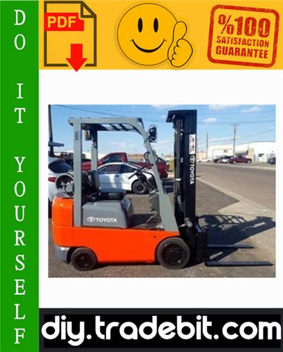 Thumbnail Toyota 7FGCU15, 7FGCU18, 7FGCSU20 Forklift Trucks Service Repair Manual Download