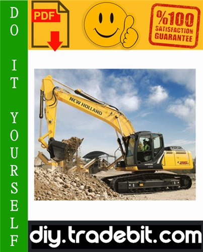 Thumbnail New Holland E215 Crawler Excavator Service Repair Manual Download