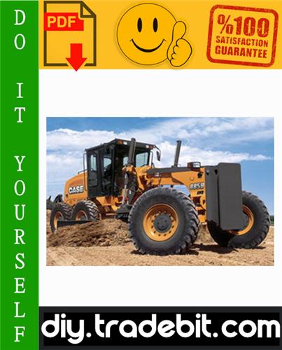 Thumbnail Case 845B, 865B, 885B, 845B DHp, 865B vHp, 885B DHp, 865B AwD, 885B AwD GRADERS Service Repair Manual Download