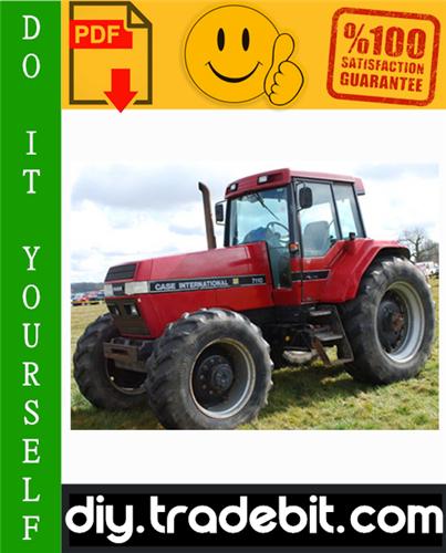 Thumbnail Case International Magnum Series 7110 7120 7130 7140 Tractor Service Repair Manual Download