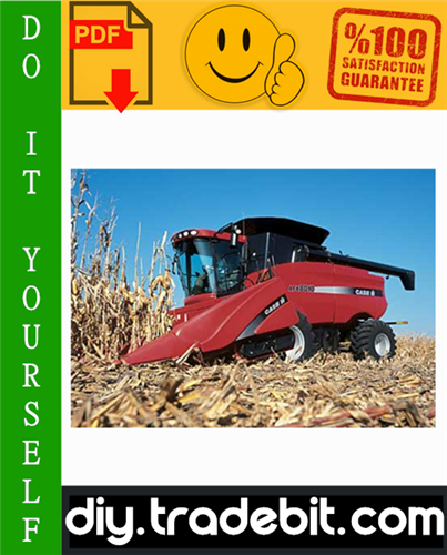 Thumbnail Case IH Axial-Flow Combine Harvester AFX8010 Service Repair Manual Download