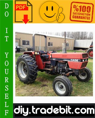 Thumbnail Case International 385 485 585 685 885 Tractor Service Repair Manual Download
