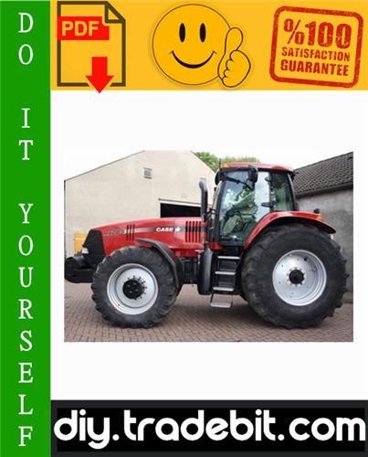 Thumbnail Case IH MAGNUM MX185, MX285 Tractor Service Repair Manual Download