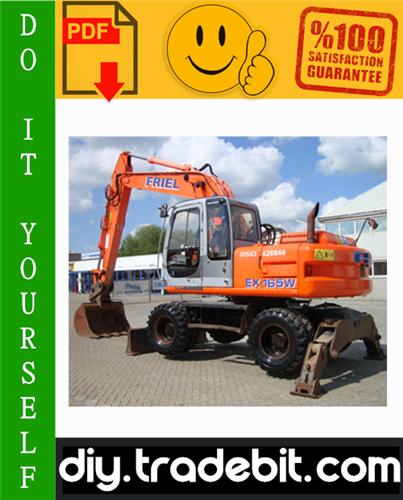 Thumbnail Fiat - Hitachi EX165W Excavator Service Repair Manual Download