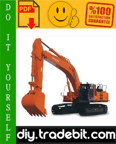 Thumbnail Hitachi EX300-3C Excavator Service Repair Manual Download