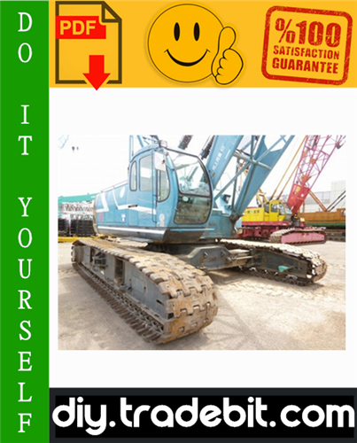 Thumbnail Kobelco 7055, 7065 Crawler Crane Service Repair Manual Download