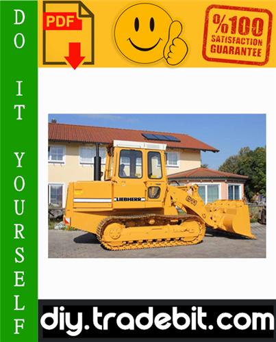 Thumbnail Liebherr LR611, LR621, LR631, LR641 Crawler Loaders Service Repair Manual Download