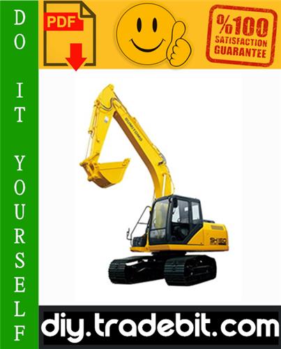 Thumbnail Sumitomo SH160-3 Excavator Service Repair Manual Download