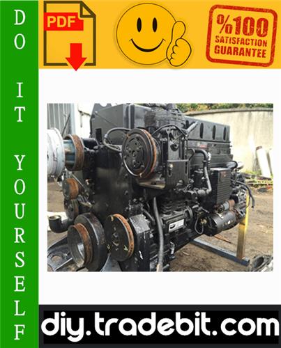 Thumbnail Cummins M11 Series Engines Service Repair Manual Download