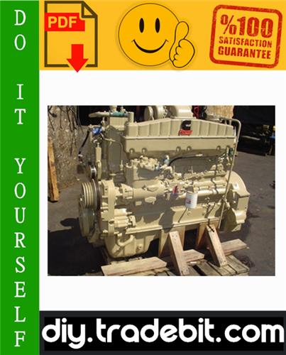 Thumbnail Cummins Big Cam III and Big Cam IV, NT 855 Diesel Engine Troubleshooting and Repair Manual Download