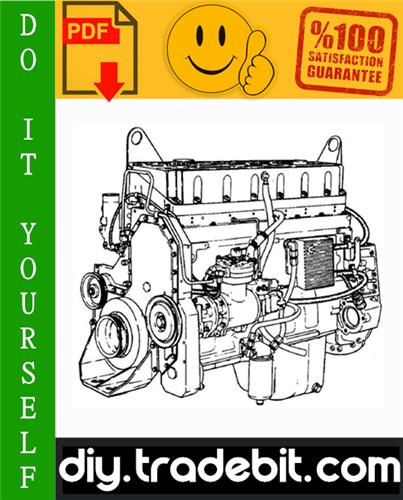 Thumbnail Cummins L10 Series Diesel Engine (External Damper models) Service Repair Manual Download