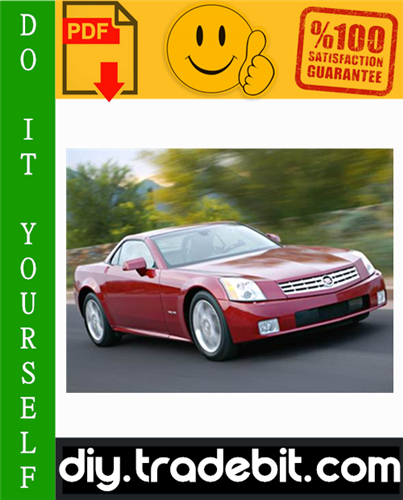 Thumbnail Cadillac XLR Service Repair Manual 2004-2008 Download