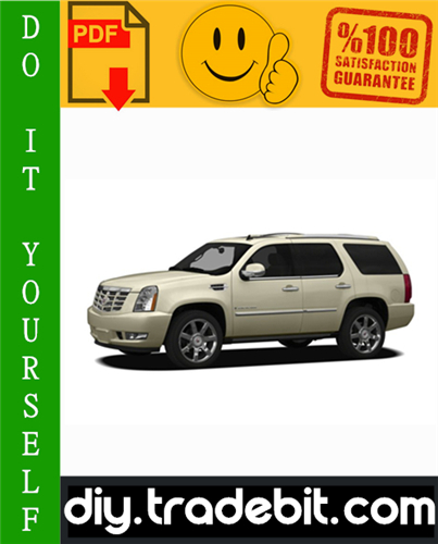 Thumbnail Cadillac Escalade Service Repair Manual 2007-2009 Download