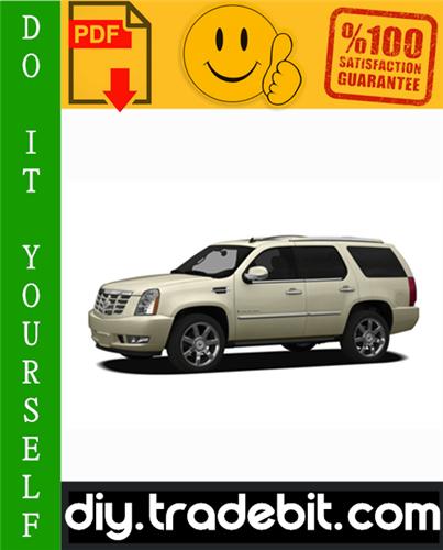 Thumbnail Cadillac Escalade Service Repair Manual 2007-2009 Download