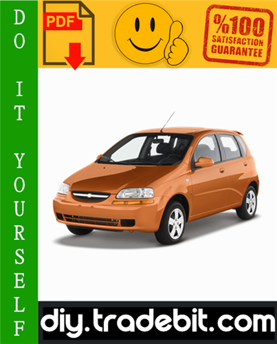 Thumbnail Chevy Chevrolet Aveo Service Repair Manual 2002-2006 Download